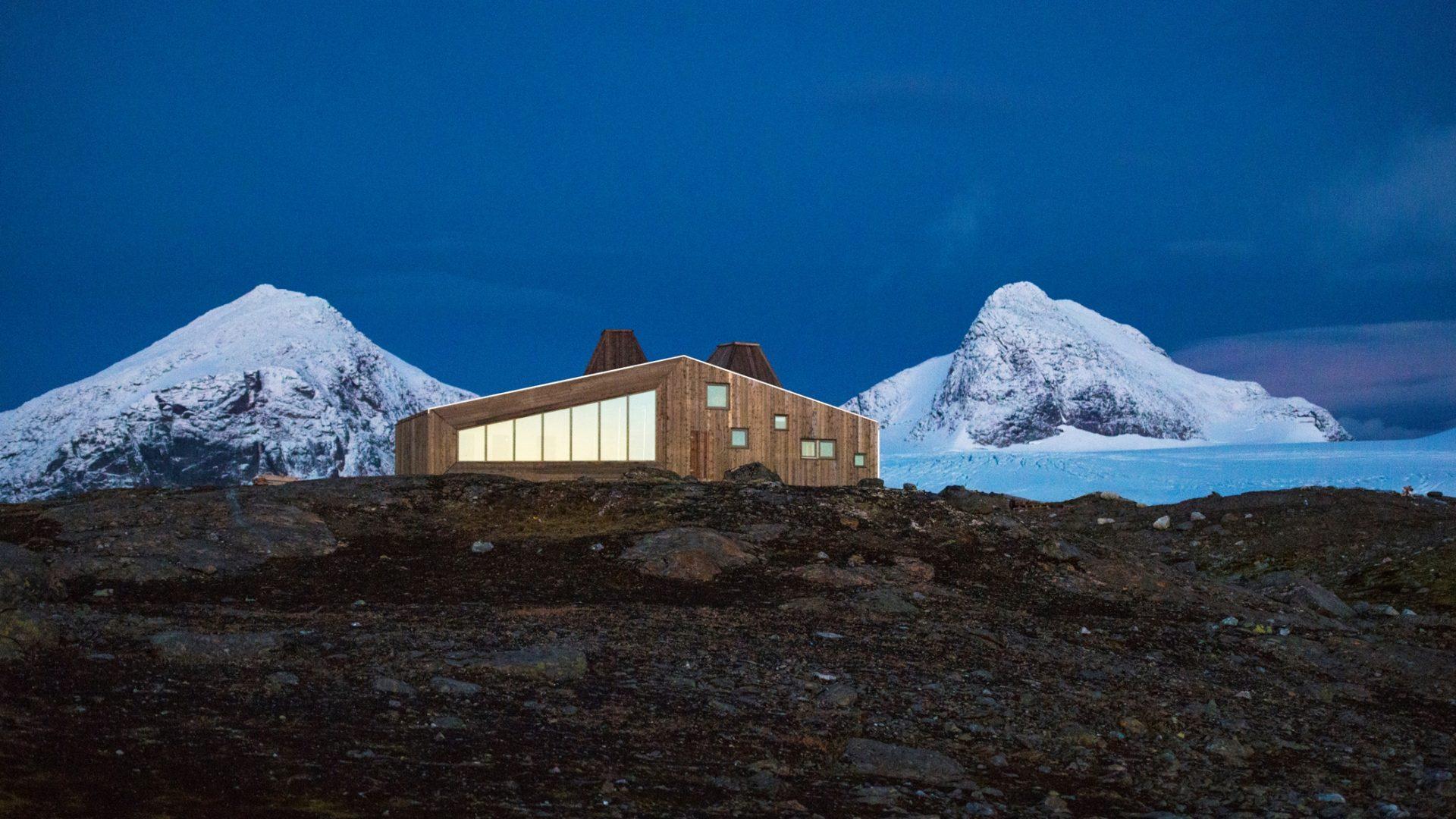 Rabot-hytta - Hemnes kommune - Helgeland - Foto: Svein Arne Brygfjeld