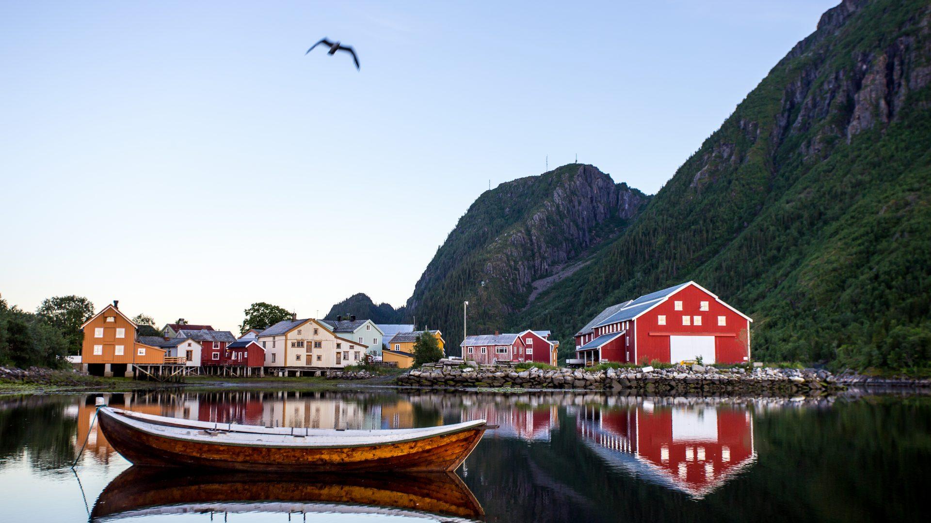 Vefsn kommune - Mosjøen - Helgeland Reiseliv - Foto: Lars Erik Marthinsen