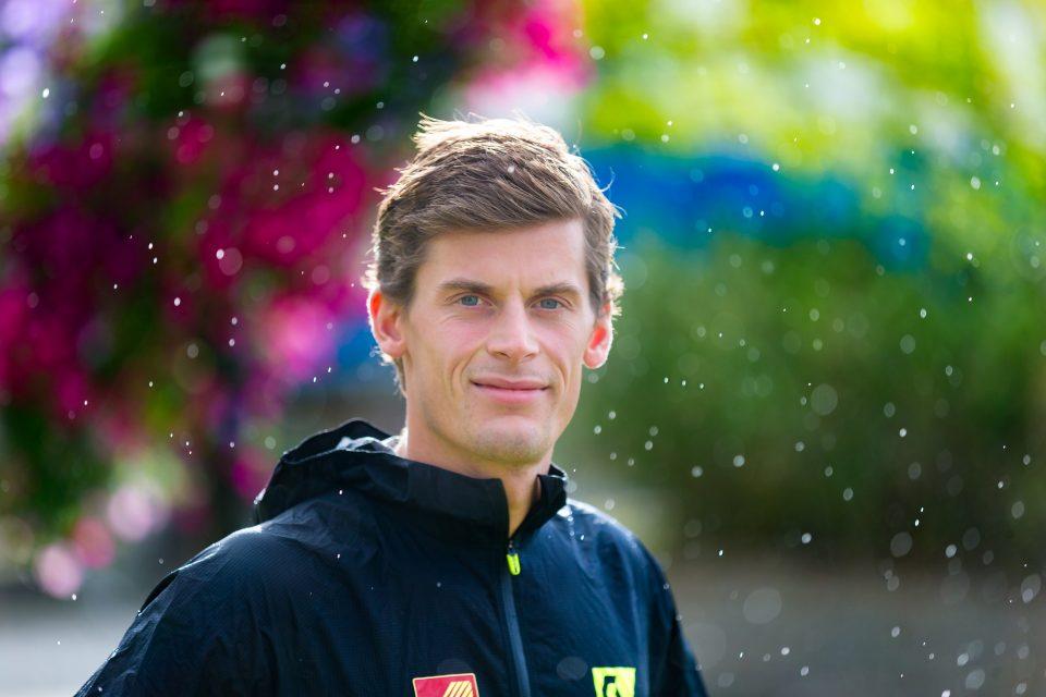 Rolf Einar i regn og sol