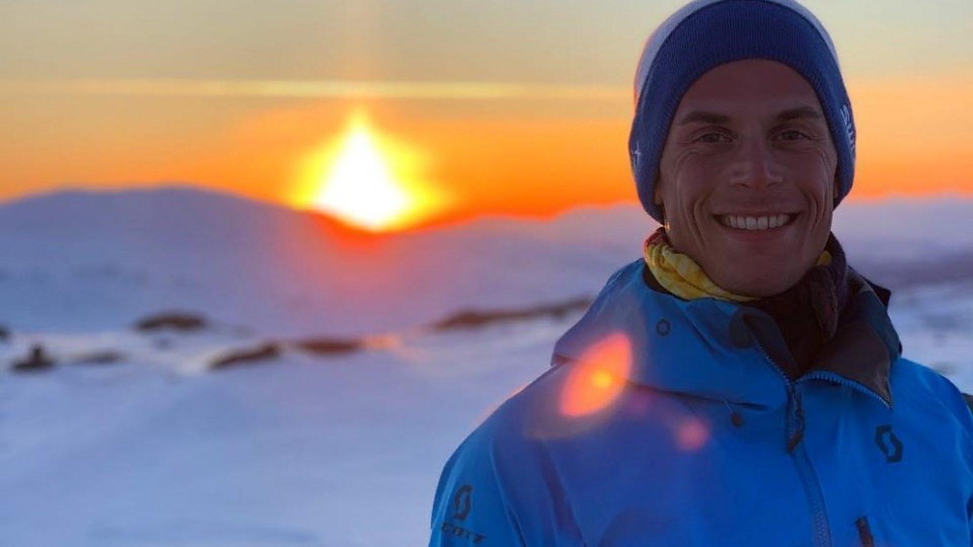 Rolf Einar på fjelltur