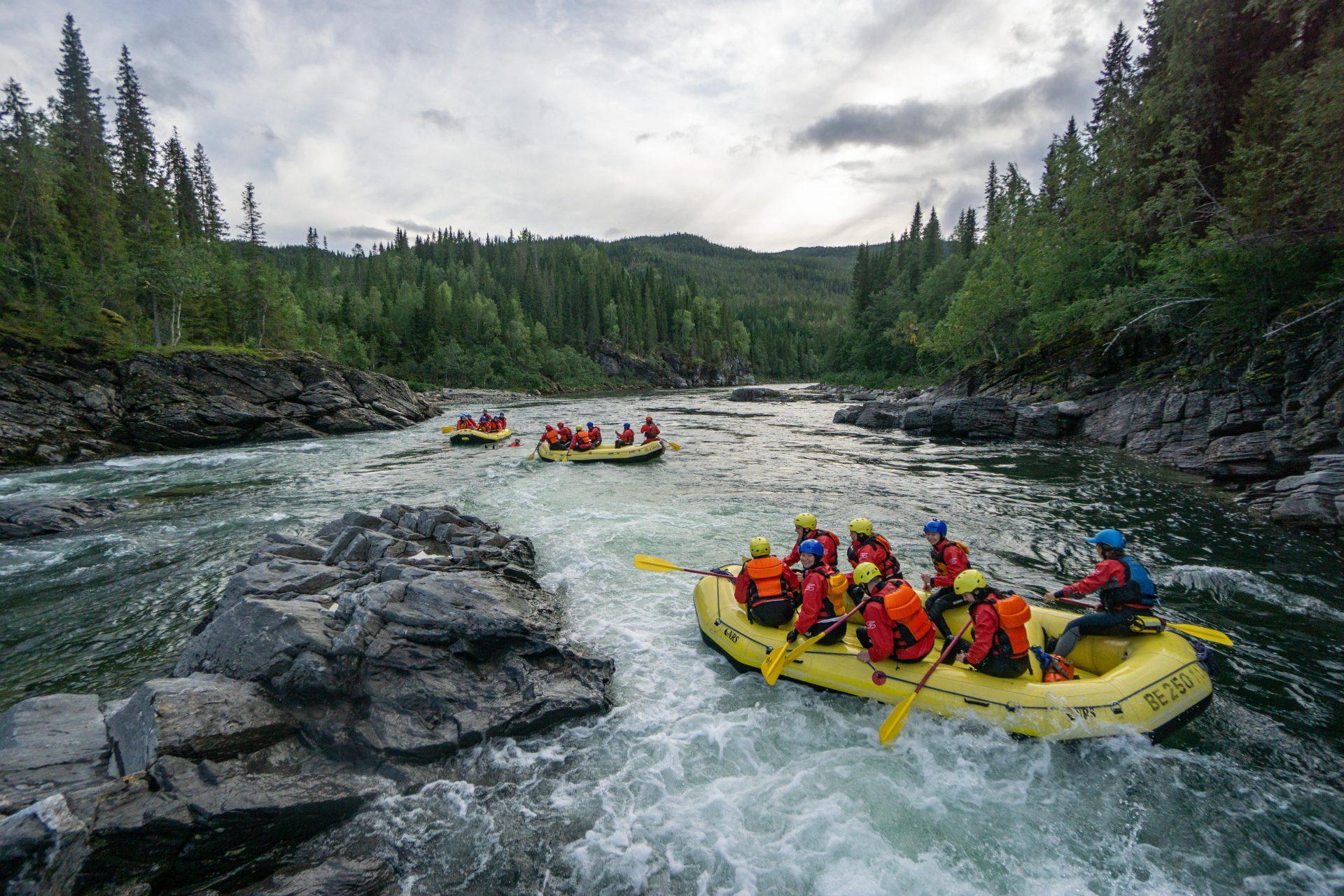 River North og Kandidat Helgeland på tur