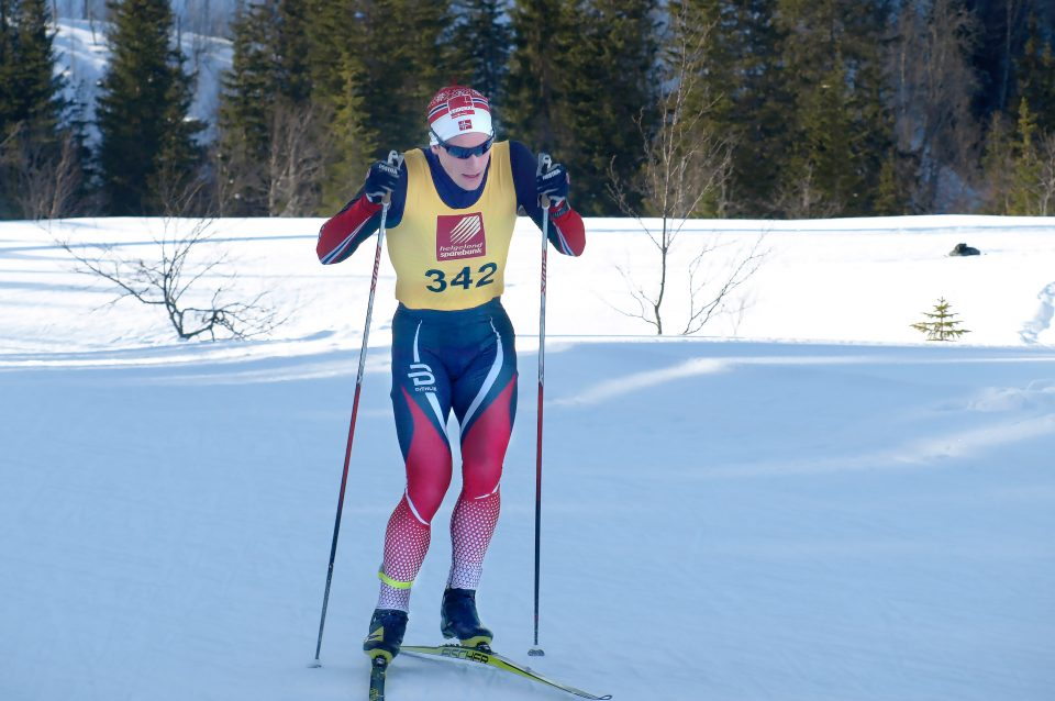 Rolf Einar på ski