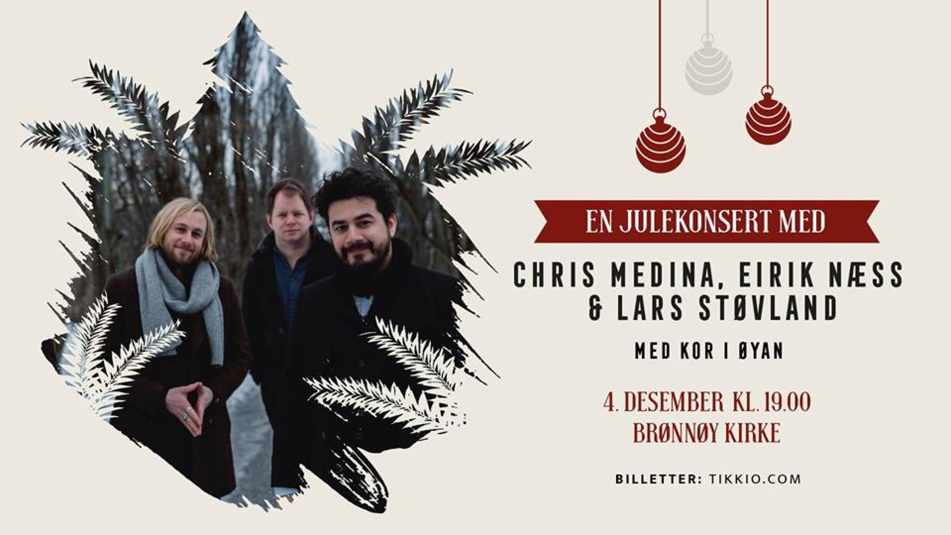 plakat for julekonsert i Brønnøy