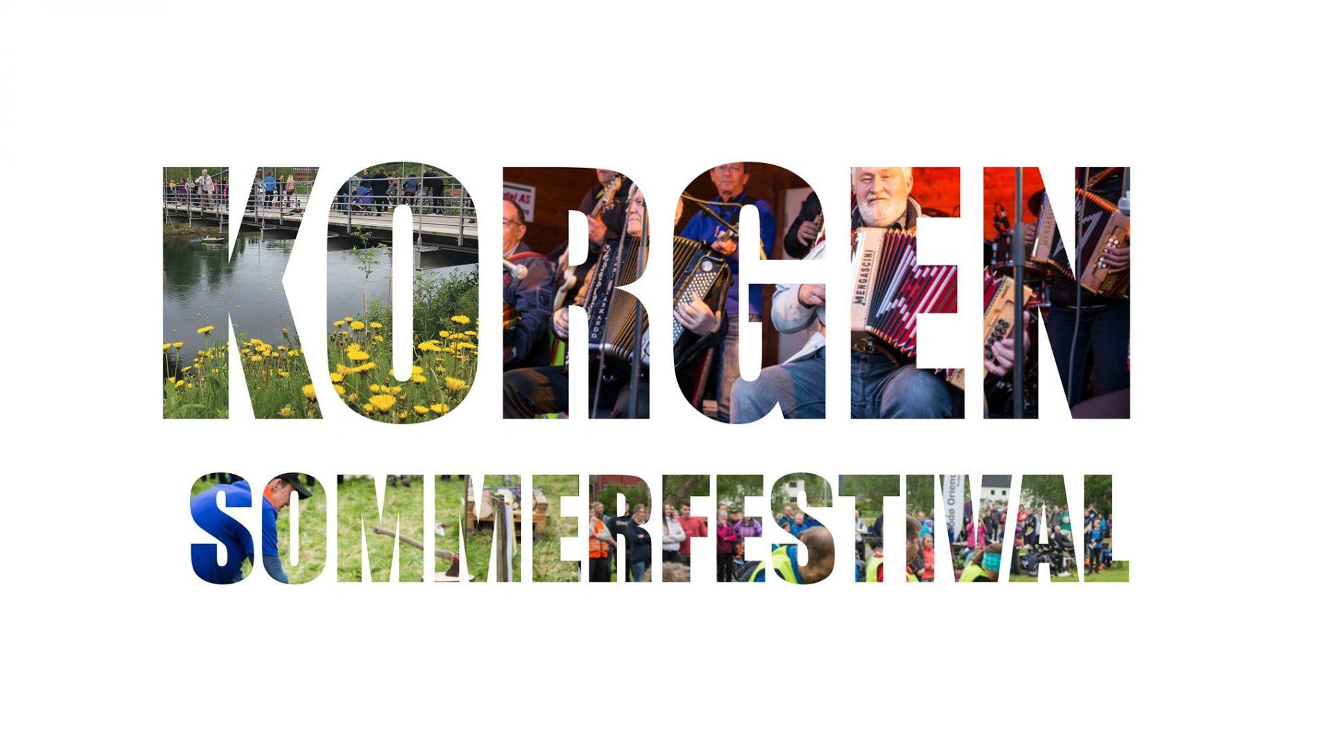Logo korgen sommerfestival