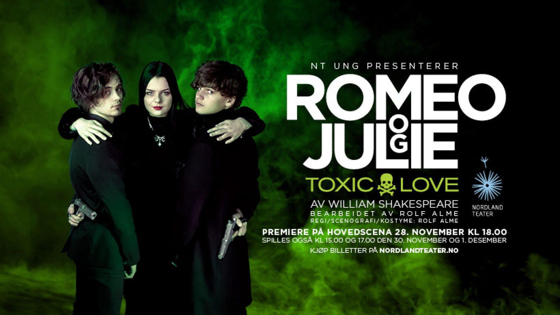 Plakat for Romeo og Julie