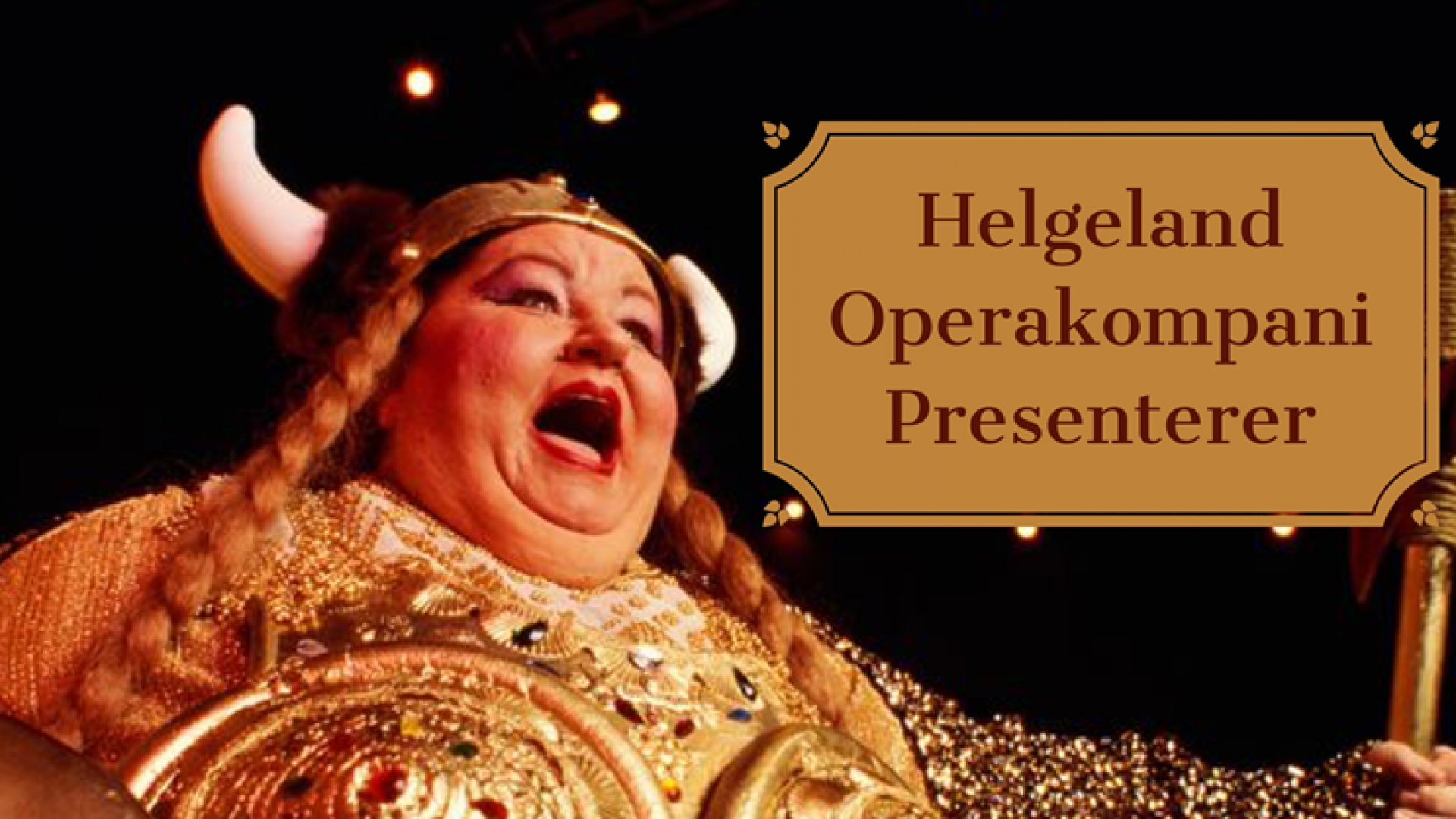 dame som synger opera