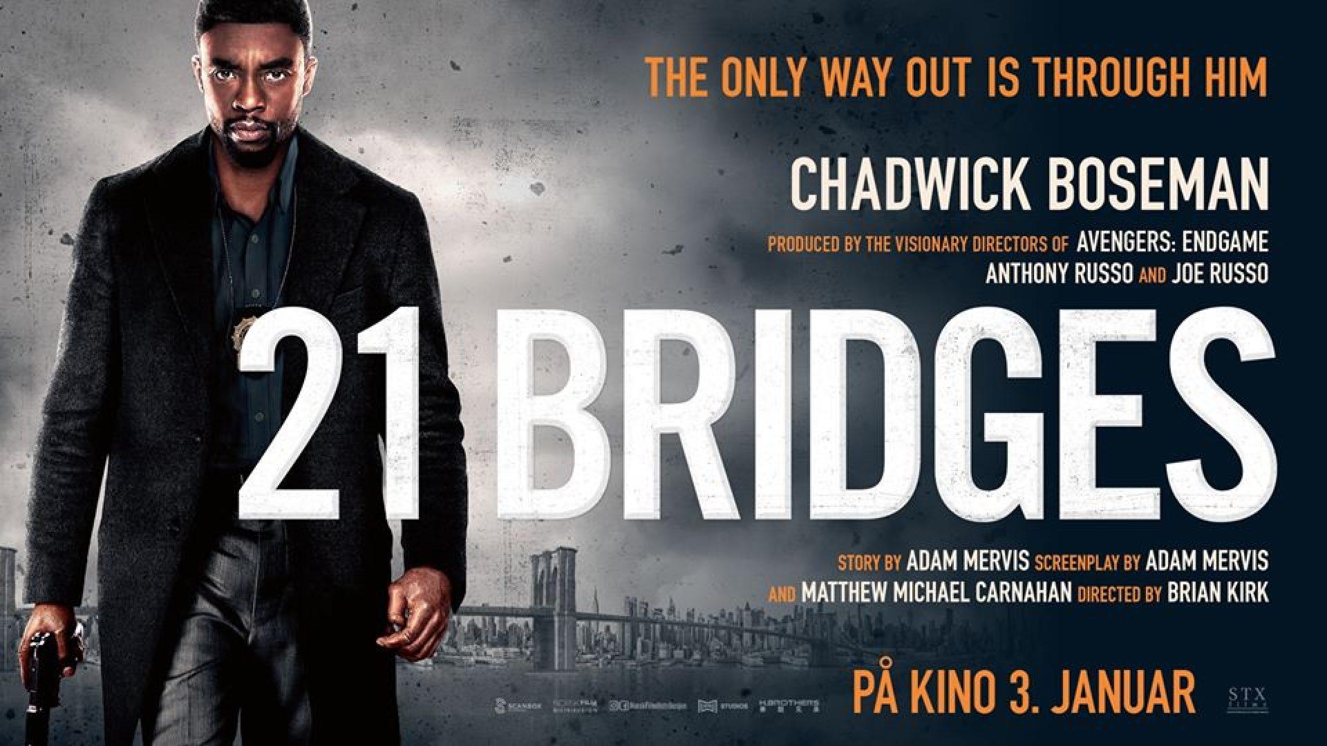 Fra filmen 21 Bridges