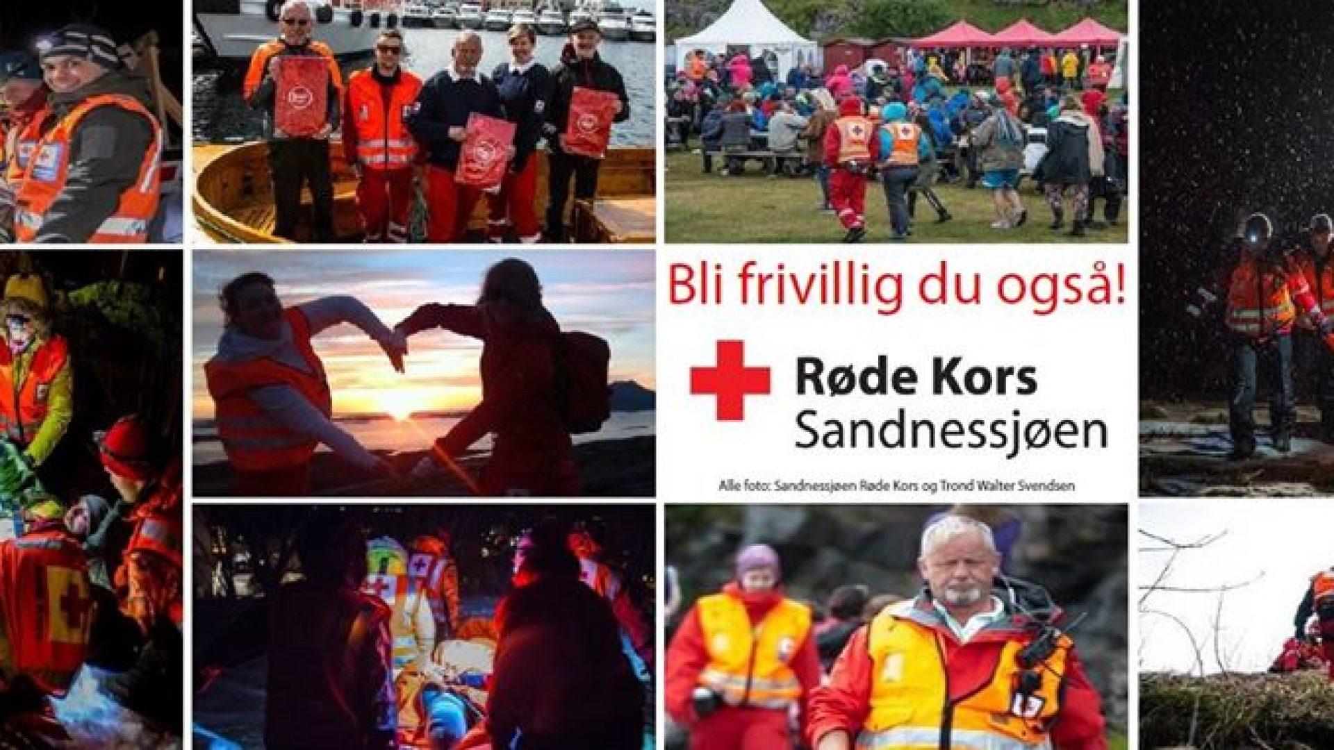 Røde kors- Bli frivillig du også