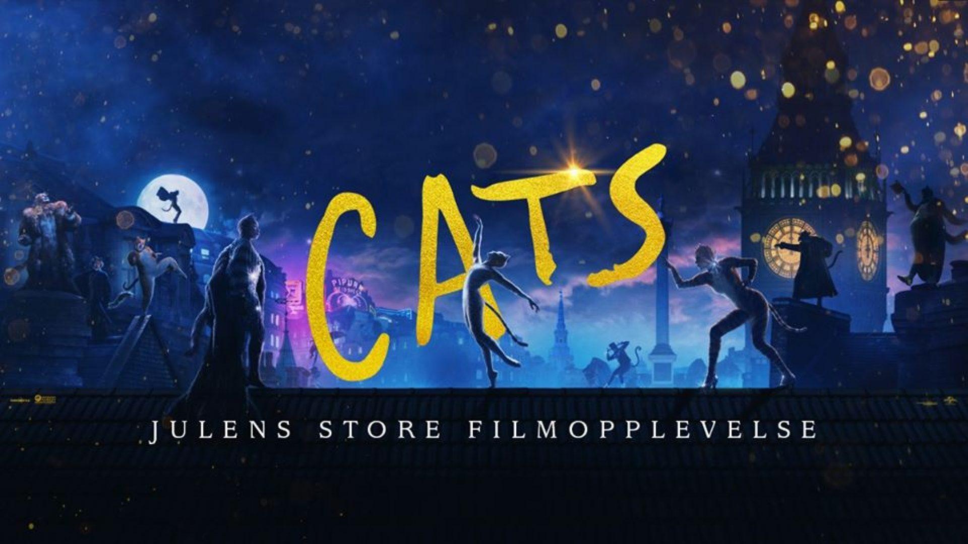Bilde fra kinofilmen Cats