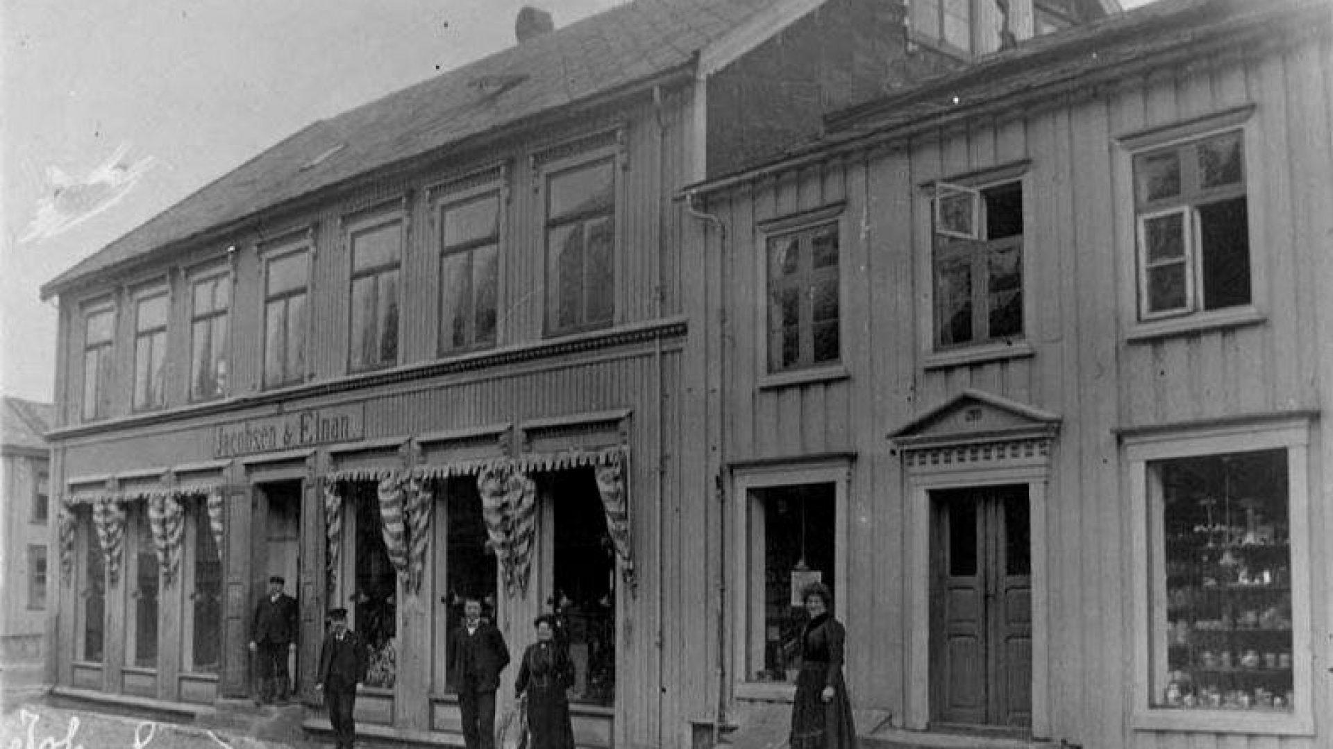 Gammelt bilde av Kulturverkstedet i Mosjøen