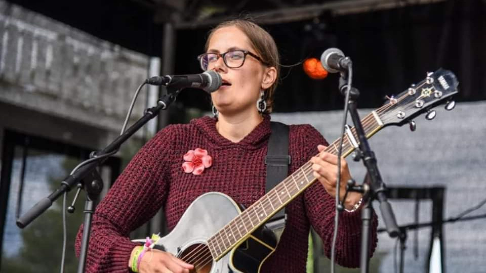 Linda Langmo Alne på scenen