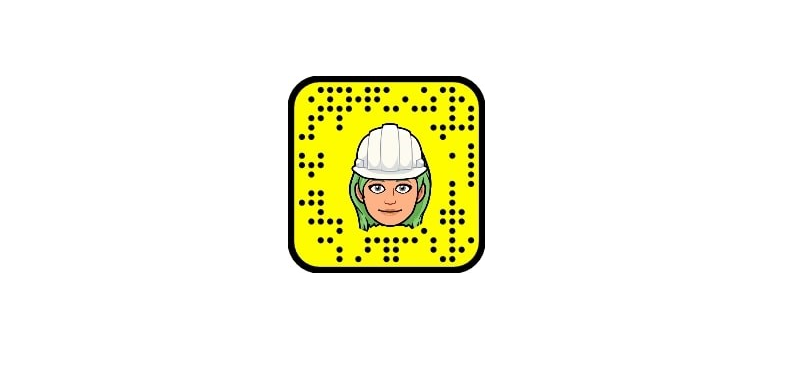 QR-kode snapchat for Mo industripark