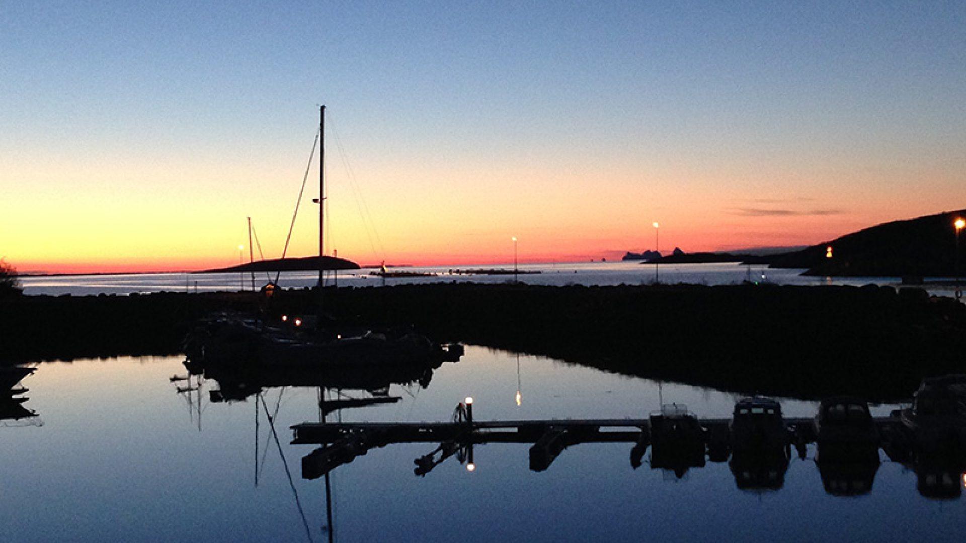 Båthavnen på Onøy