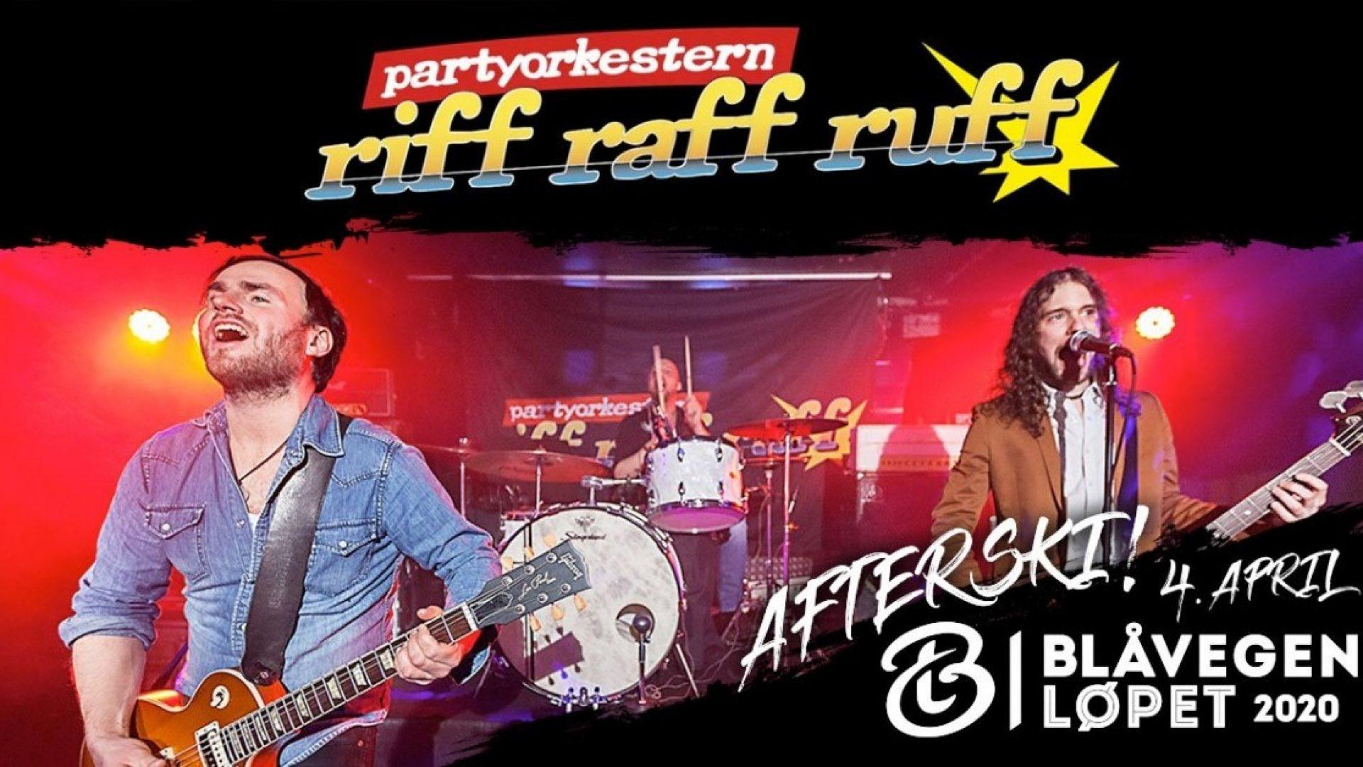 Reklameplakat Riff Raff Ruff