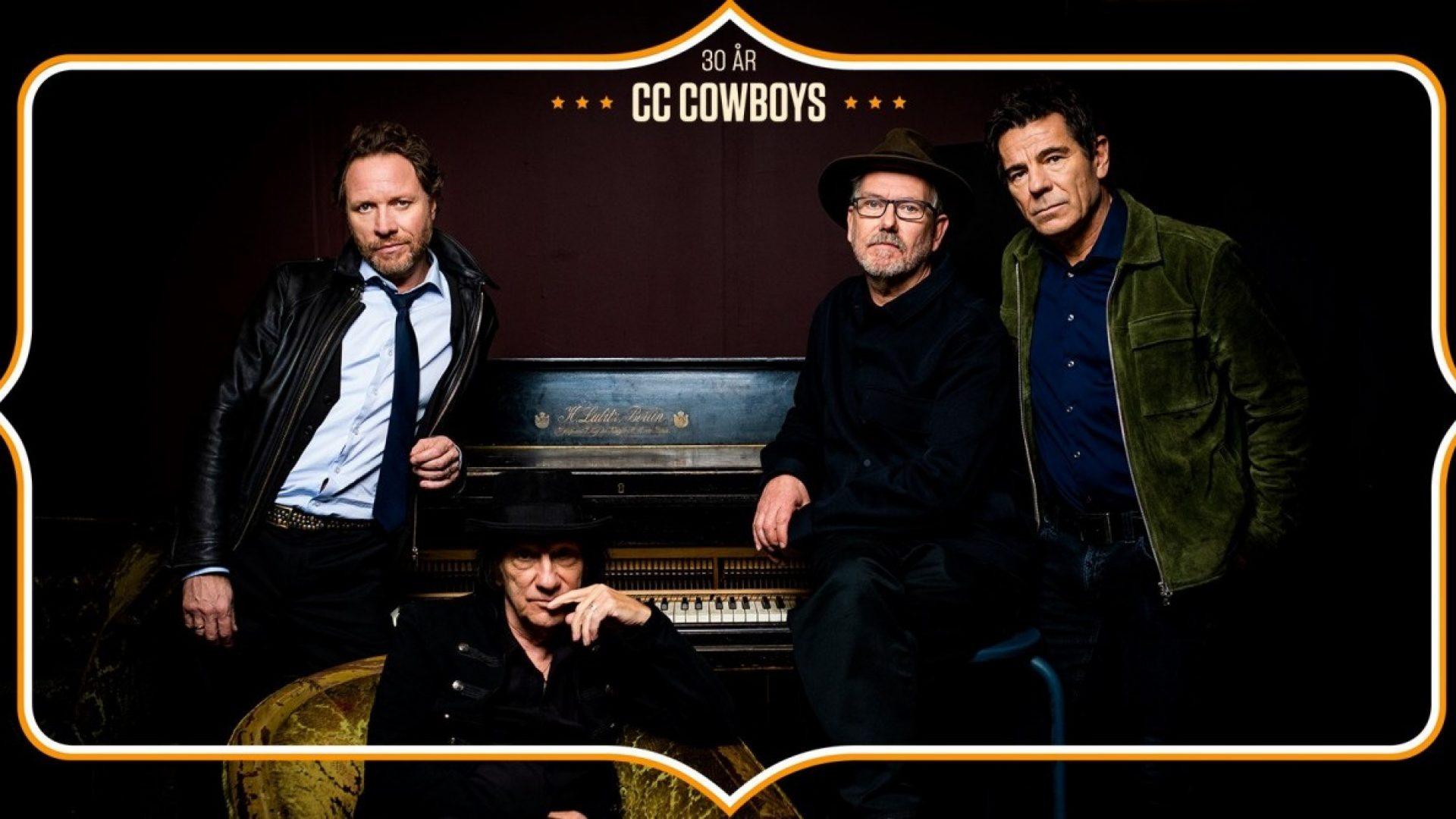 CC Cowboys reklameplakat