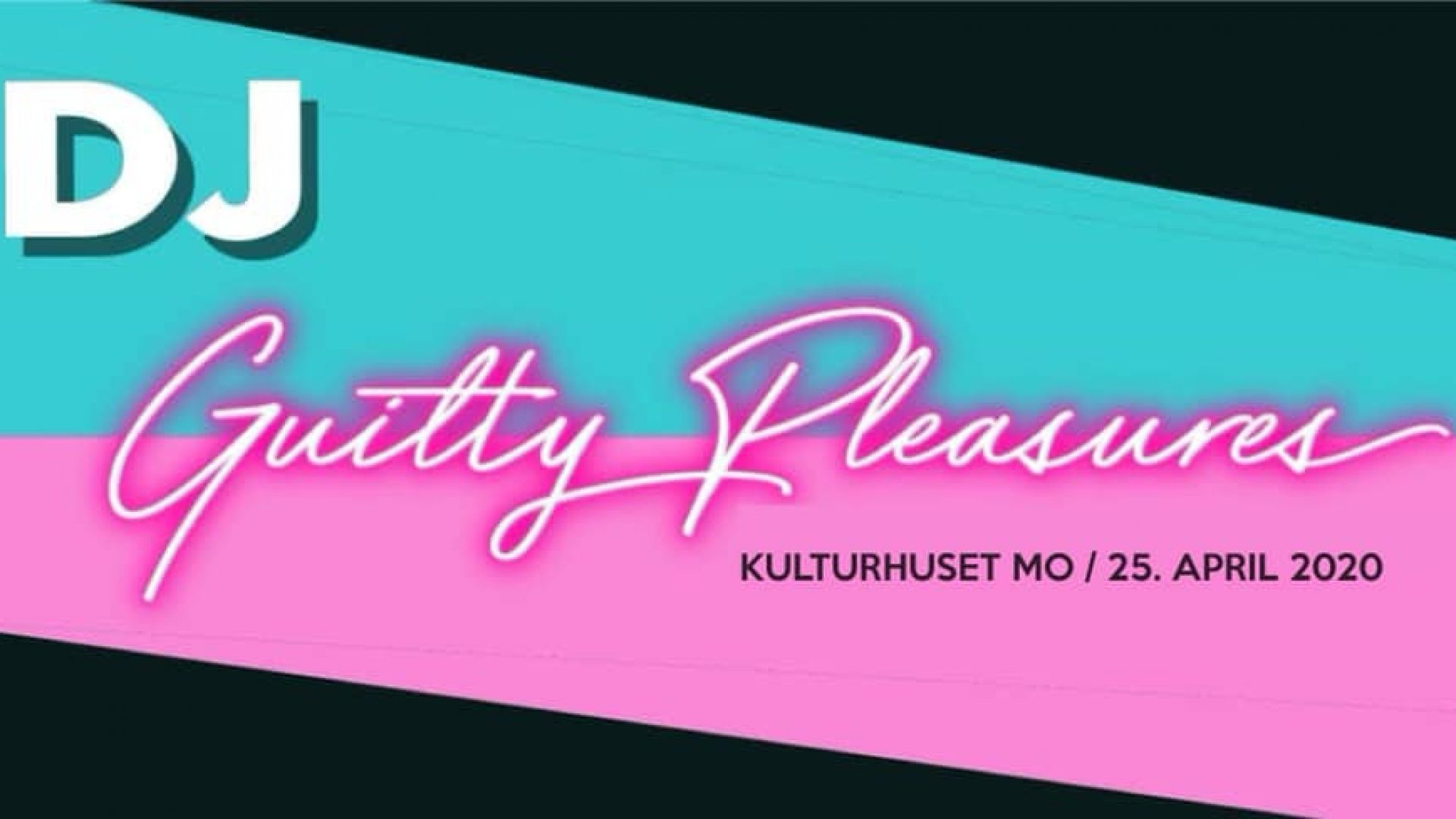 Reklameplakat Guilty pleasure