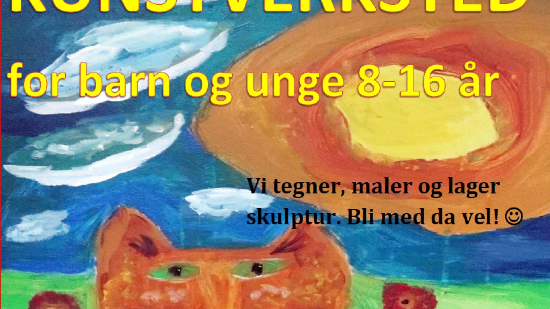 Kulturverksted for barn og unge Vevelstad Brønnøy