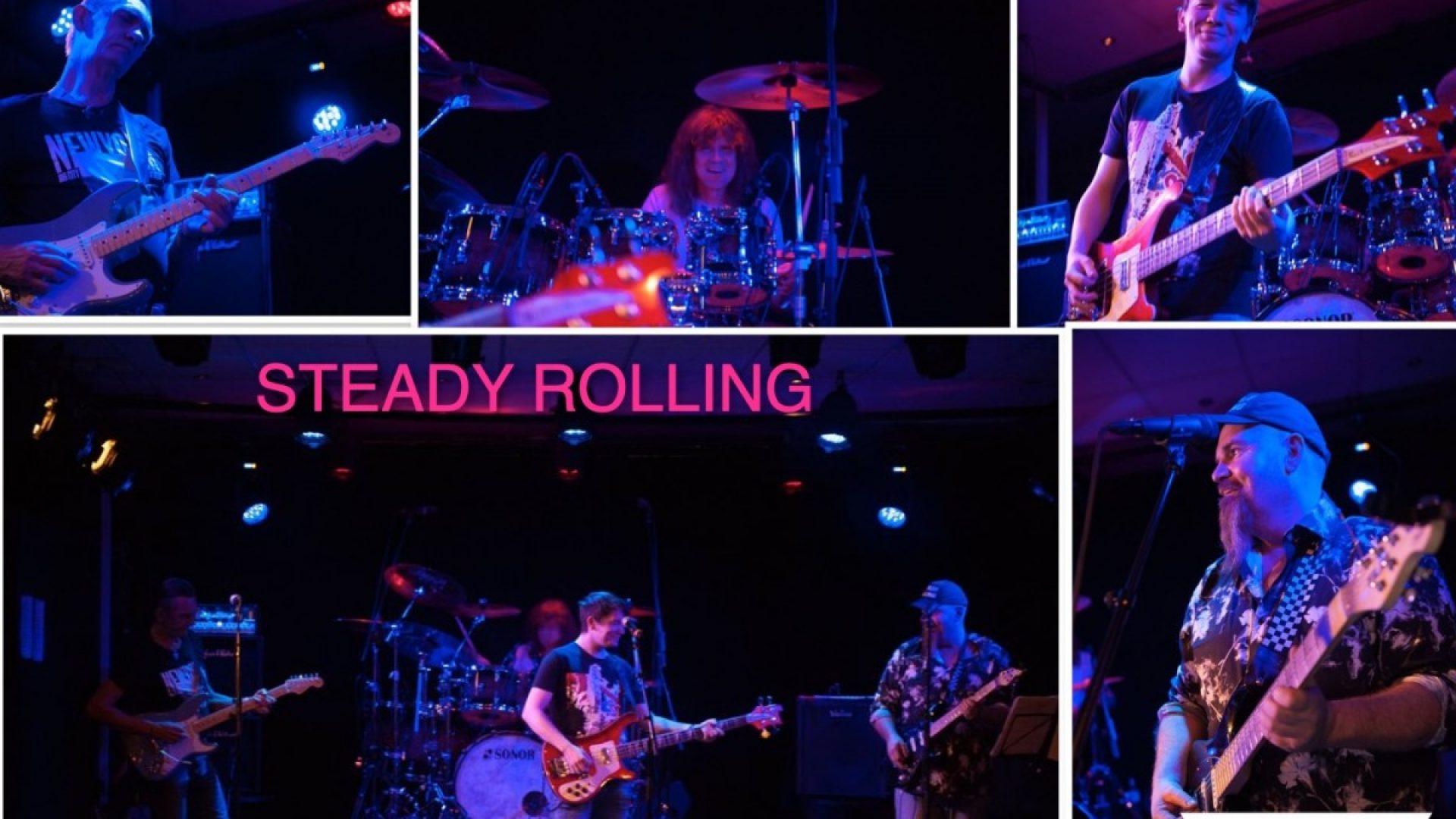 Reklameplakat Steady Rolling