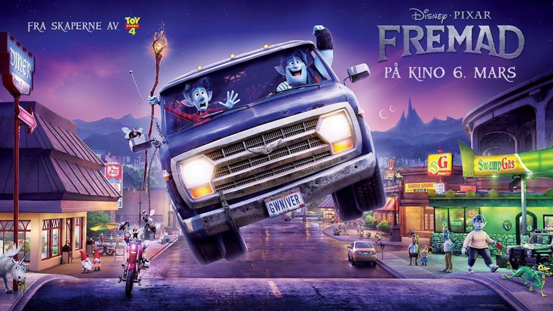 Disney Pixar Fremad
