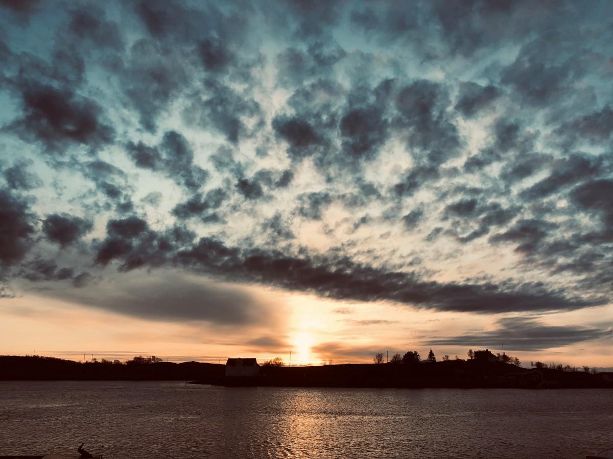 Sol i horisonten