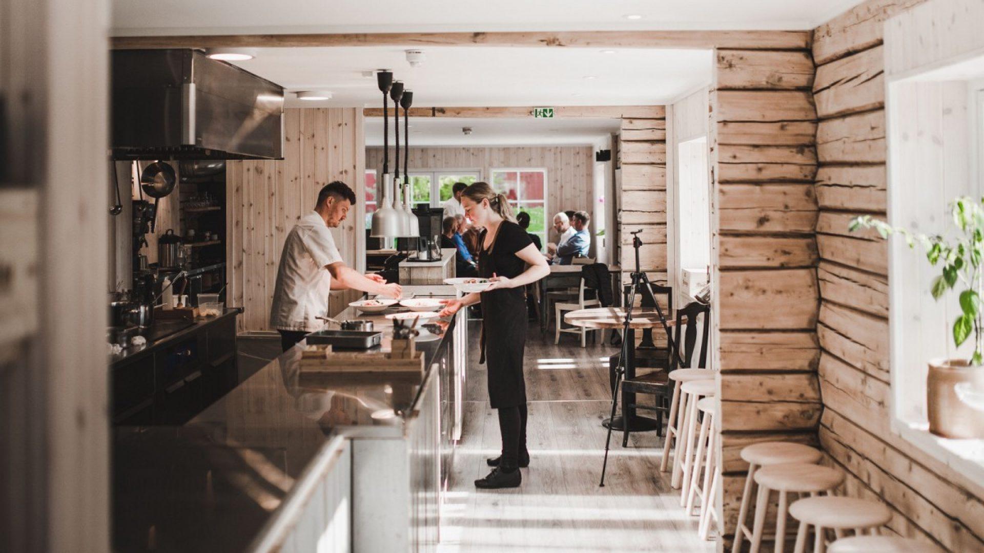 Restauranten i Til Elise Fra Marius