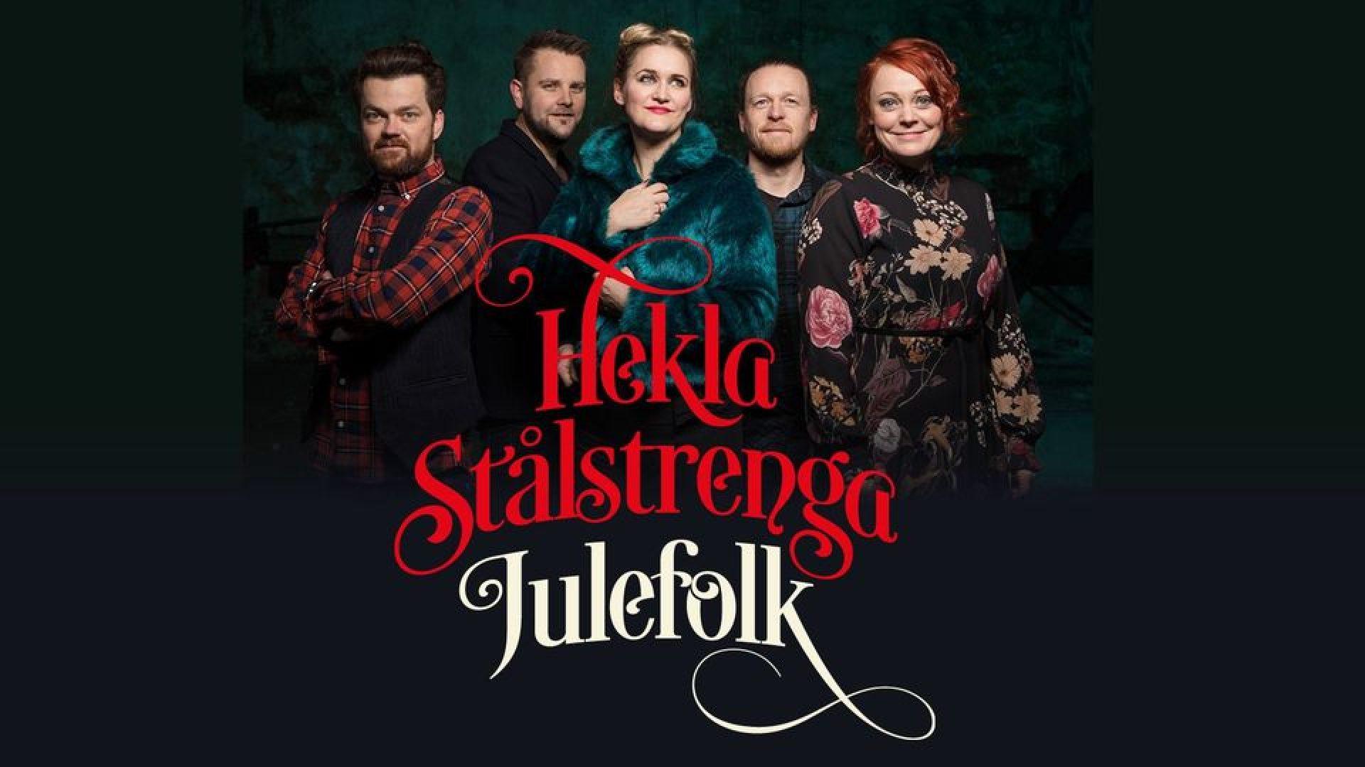 Bandmedlemmene i Hekla Stålstrenga