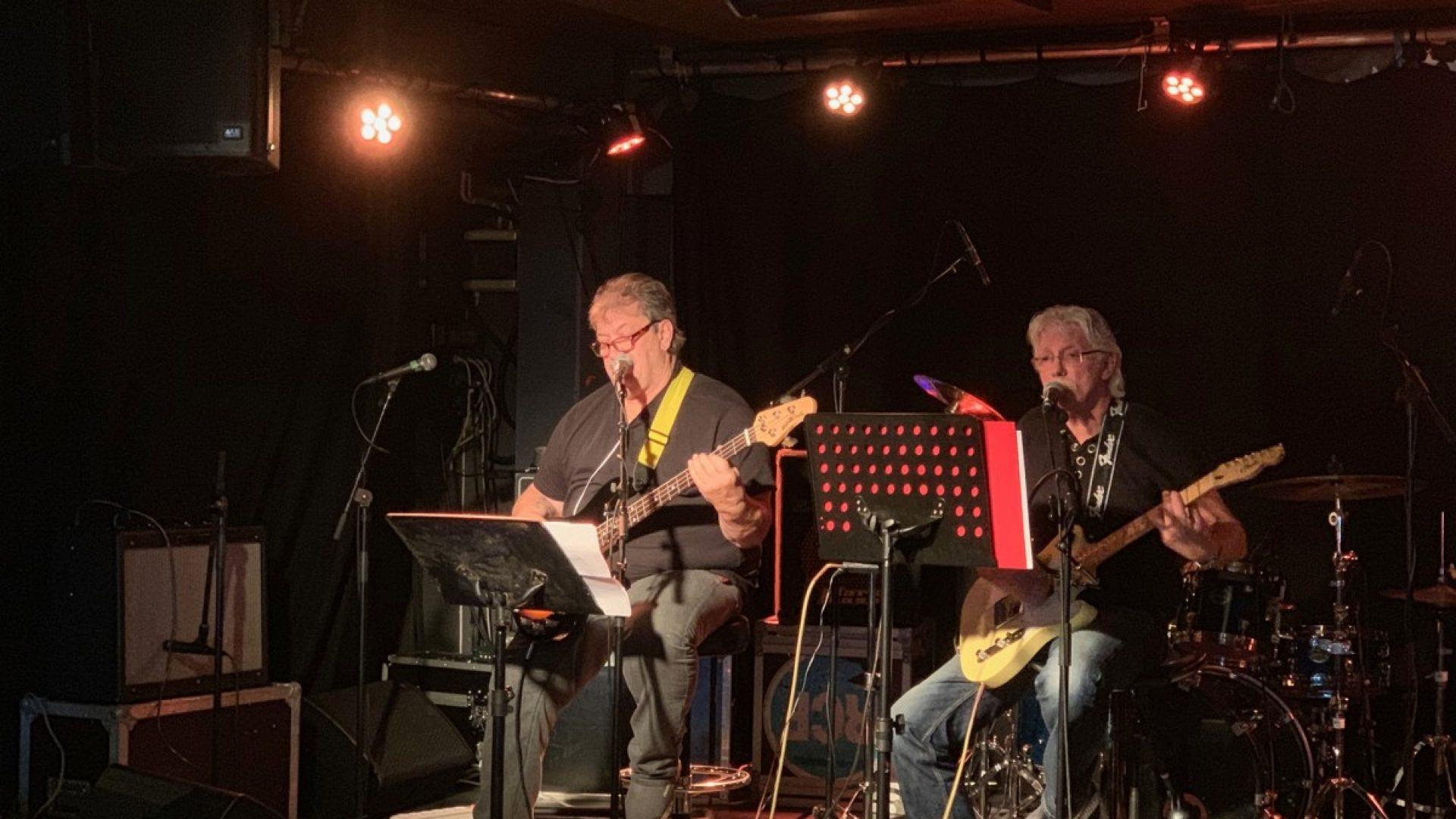 Musikere på scena