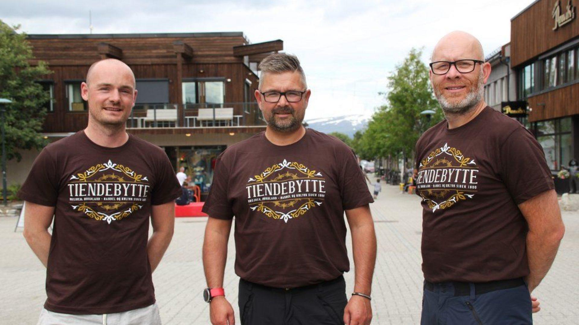Helgeland Event med Tiendebytte T-shirts
