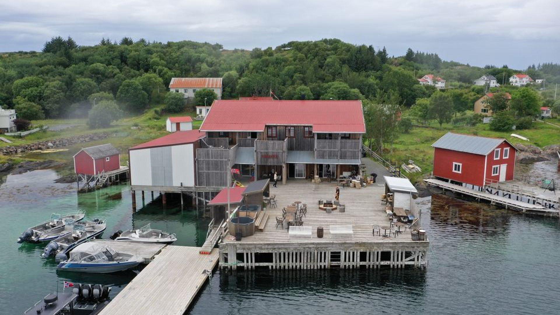 Havkanten brygge på Herøya