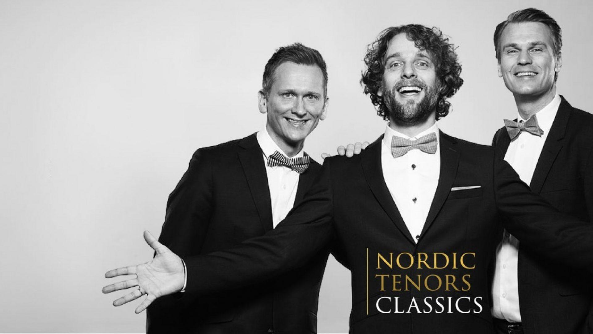 Nordic Tenors i dress