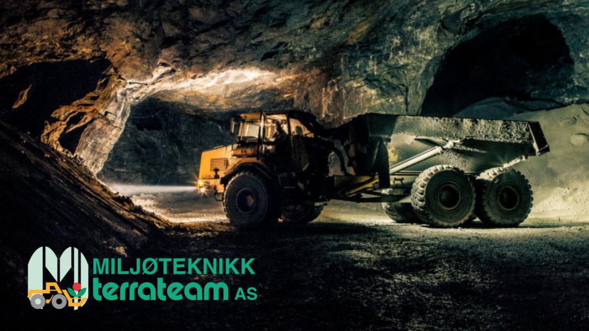 Kjøretøy inne i gruve