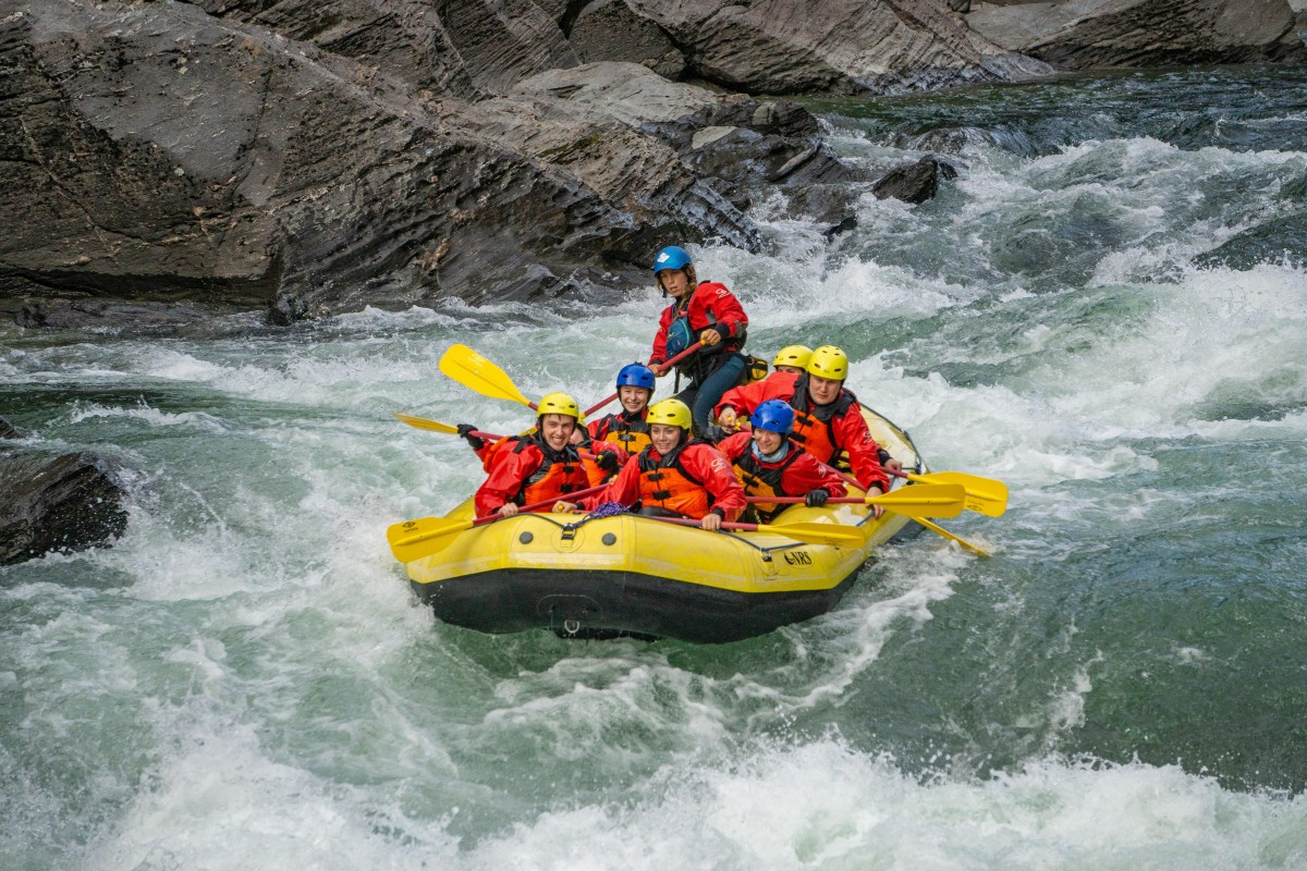 Rafting med River North i Austervefsna