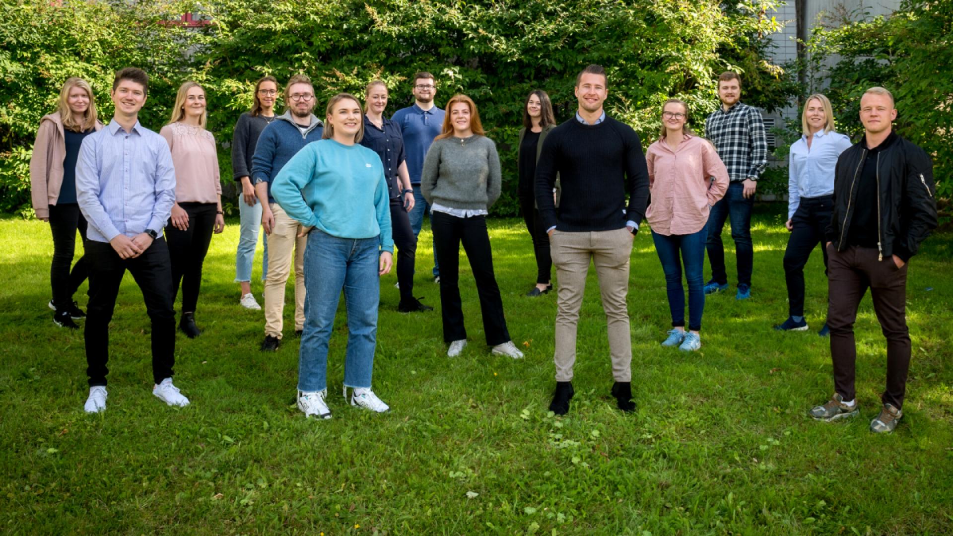 Traineer i Kandidat Helgeland i 2020-2021