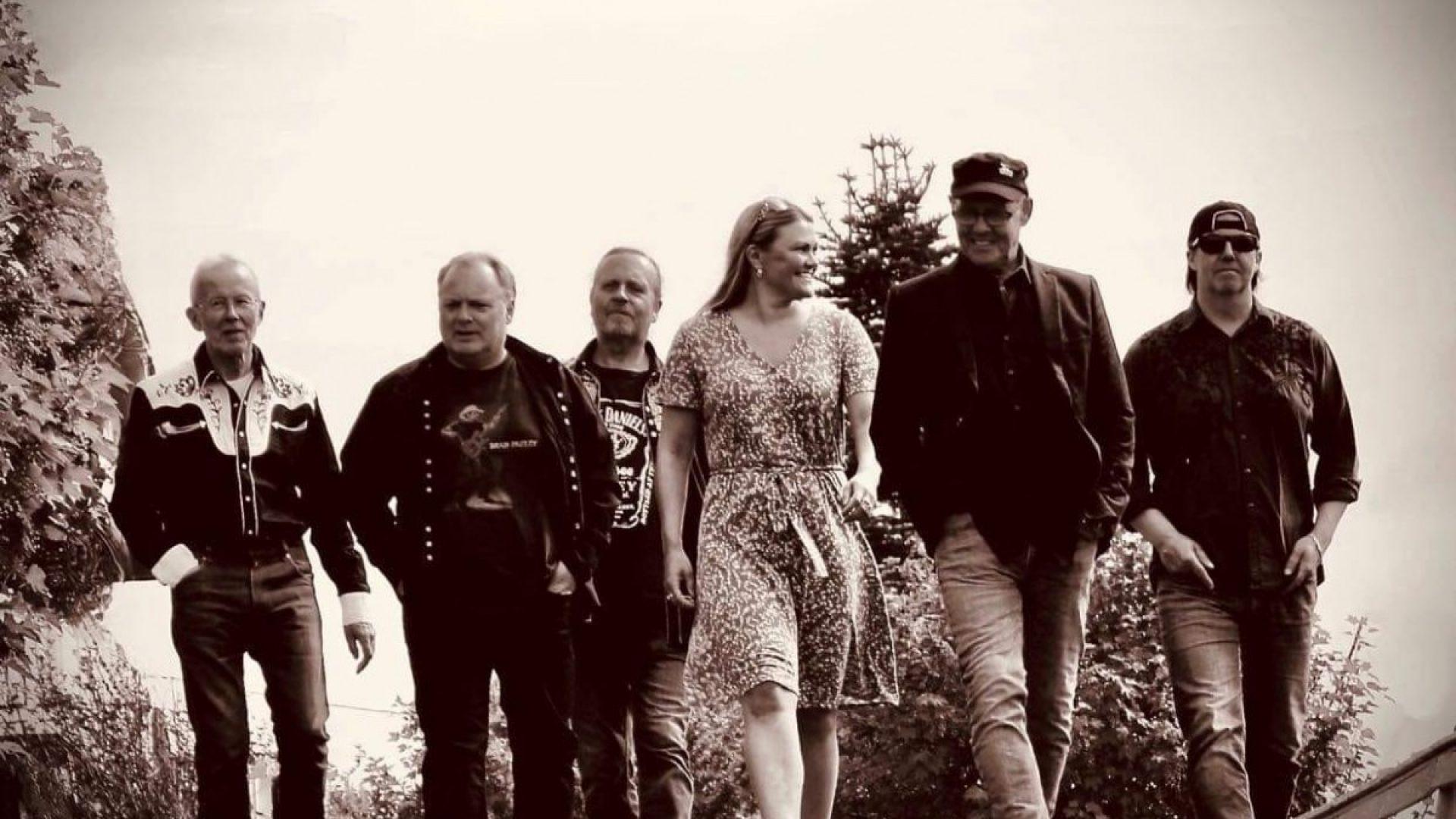 Hans Arne Forsback band - coverbilde av mandmedlemmene